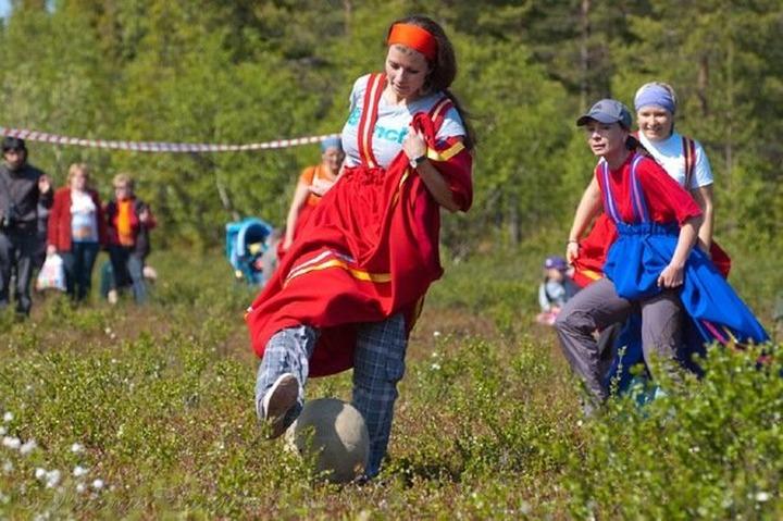 Валентина Совкина: Из саамского футбола пора делать бренд