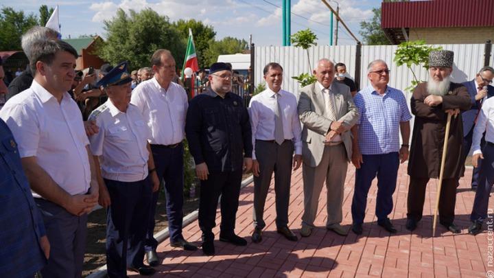В Дагестане открыли мемориал в честь Ахмата-Хаджи Кадырова
