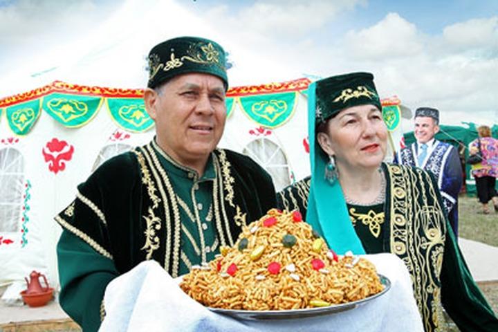 В Волгоградской области провели Всероссийский сельский Сабантуй