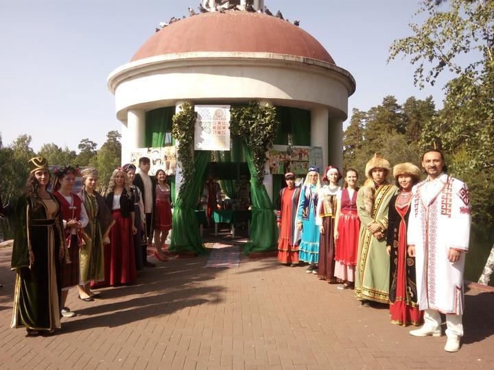 Центр народного единства в Челябинске на Общественно-политическом вернисаже