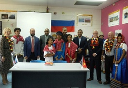 О русском языке и культуре расскажут посетителям Кабинета Русского мира в Папуа-Новой Гвинее