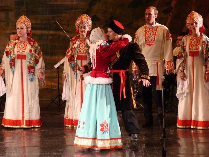 Волжский народный хор отмечает 60-летие