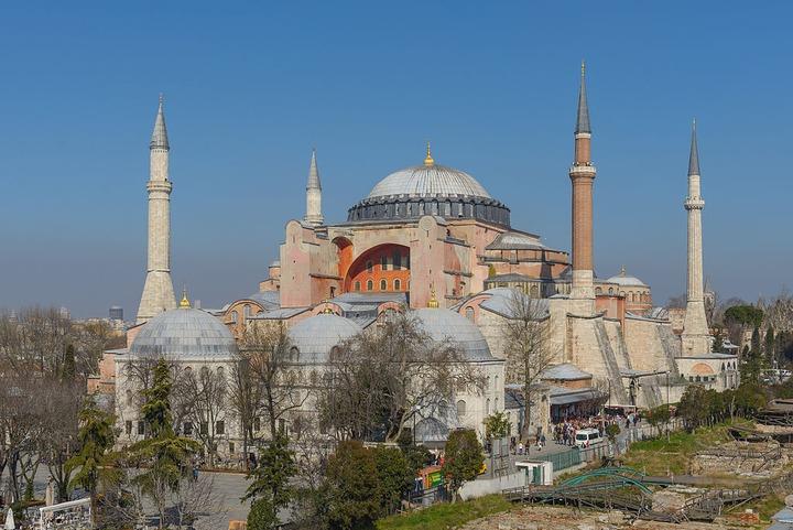 Глава греческой ФНКА попросил Владимира Путина защитить собор Святой Софии в Стамбуле