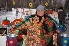 В Челябинске измеряли блины и выбирали блинные уголки