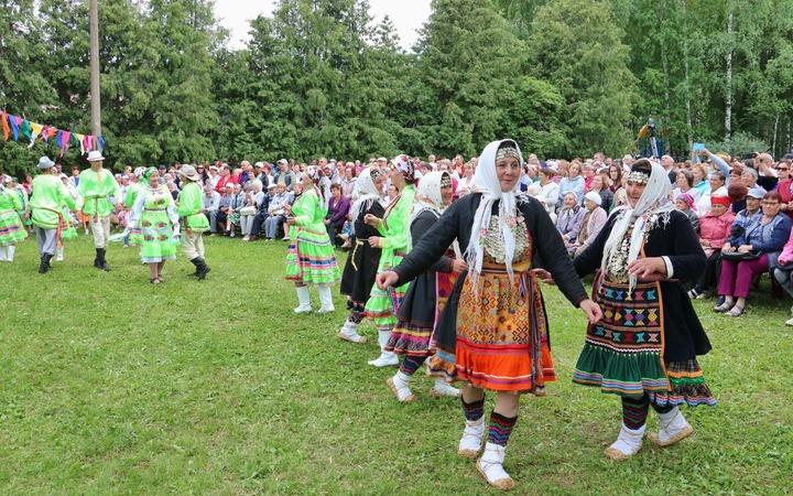 Марийский праздник цветов отметили в Йошкар-Оле