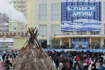 """Театральное представление с шаманом и лазерное шоу состоятся на """"Большом Аргише"""" в Таймыре"""