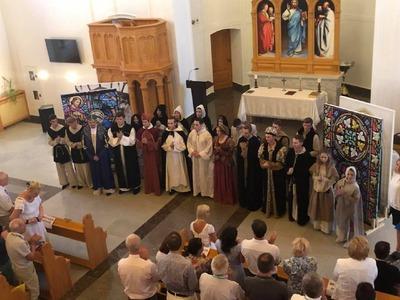 Вековой юбилей образования немецкой автономии отпраздновали в Саратовской области