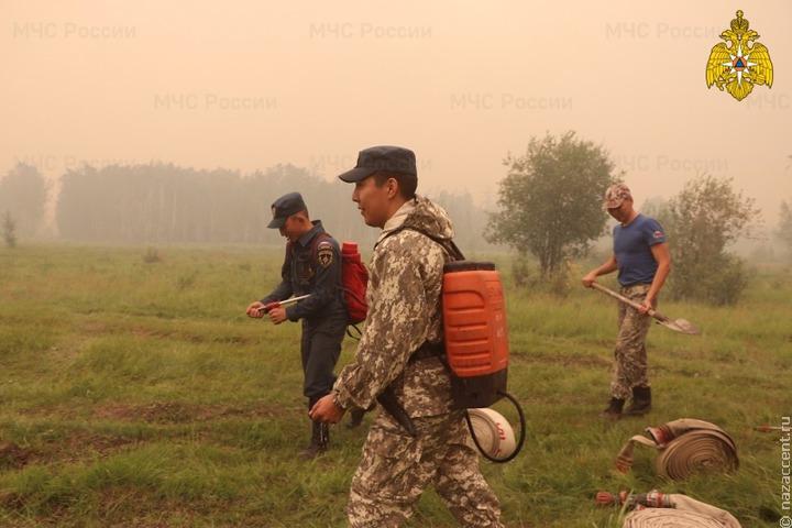 В Якутии национальные поселения защищают от лесных пожаров минерализованными полосами