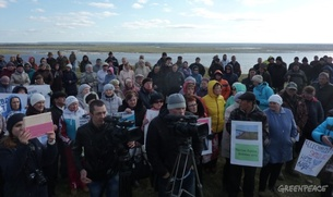 """""""Лукойл"""" не ответил на претензии протестующих жителей Коми"""