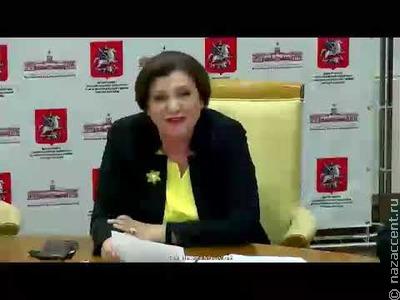 Маргарита Лянге на Совете по межнациональным отношениям
