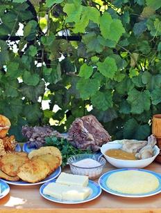 Черкесская национальная кухня