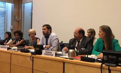 Баринов рассказал в ООН про расизм и дискриминацию в России