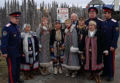 В Магаданской области открыли этнокультурный центр казаков и эвенов