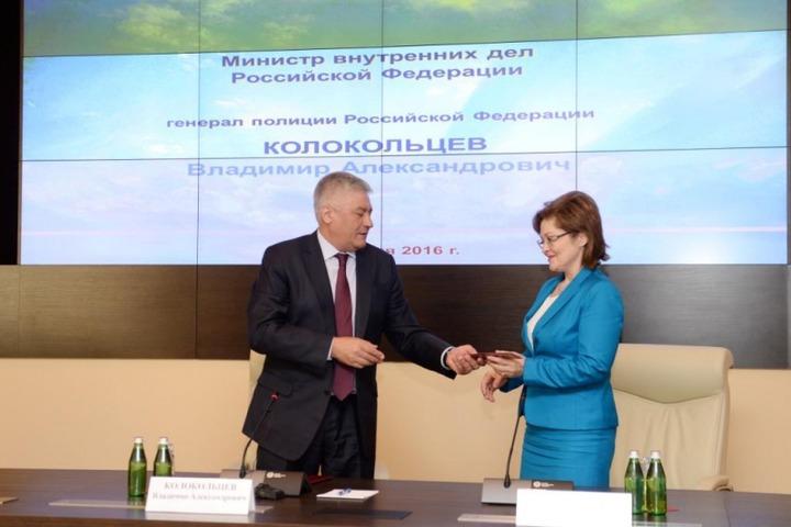 Начальником Главного управления по вопросам миграции в МВД стала глава столичного УФМС
