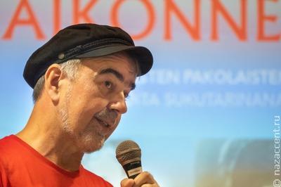 Карельский фолк-музыкант представил книгу о репрессированных родных