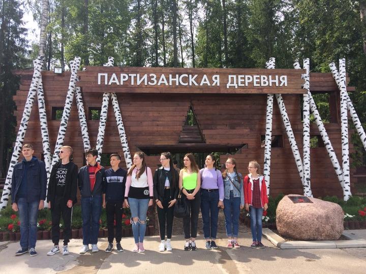 Участники детского удмуртского проекта о многонациональной Победе посетили столицу