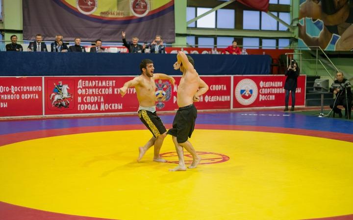 Фестиваль традиционных видов борьбы народов России
