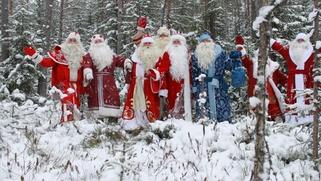 Удмуртский, русский, татарский и бурятский Деды Морозы встретятся на фестивале
