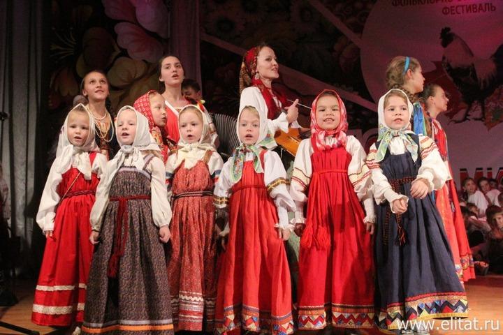 В Казани провели фестиваль русского фольклора