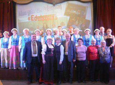 В Коми юбилей немецкого хора отпраздновали многонациональным фестивалем
