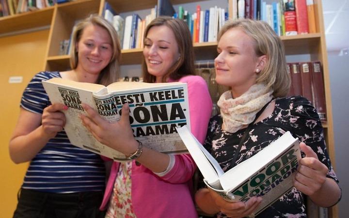 Крымской общине эстонцев к Новому году прислали учебники по языку