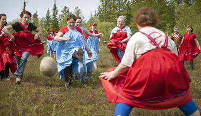Женский саамский футбол и ловля рыбы на банку ждёт участников Саамских национальных игр