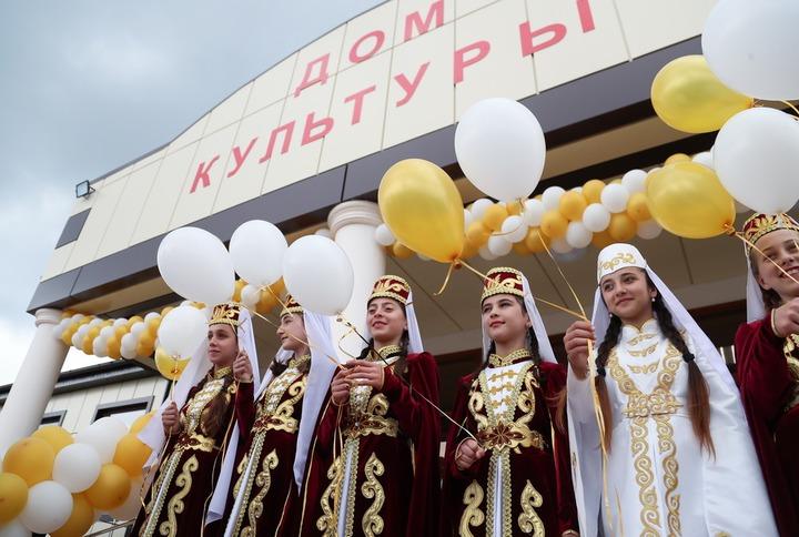 В Ингушетии открыли три Дома культуры с мастерскими народных ремесел