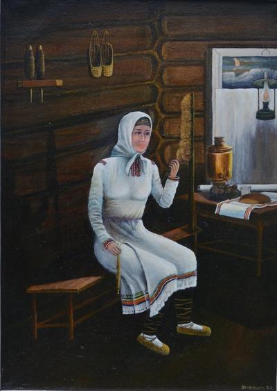 Выставка марийского художника открылась в Москве