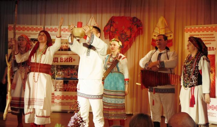 "Самарские эрзяне и мокшане отпраздновали ""Масторавань тундо"""