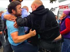 Постпредство Дагестана следит за ситуацией с нападением на полицейского на московском рынке