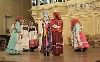 """Выступление фольклорного ансамбля """"Уфтюжаночка"""""""