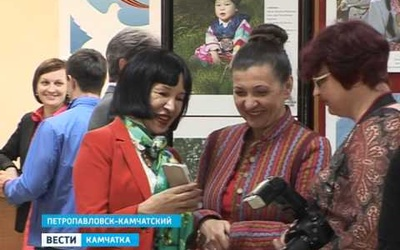 """Фотовыставка """"Дети России"""" на Камчатке"""