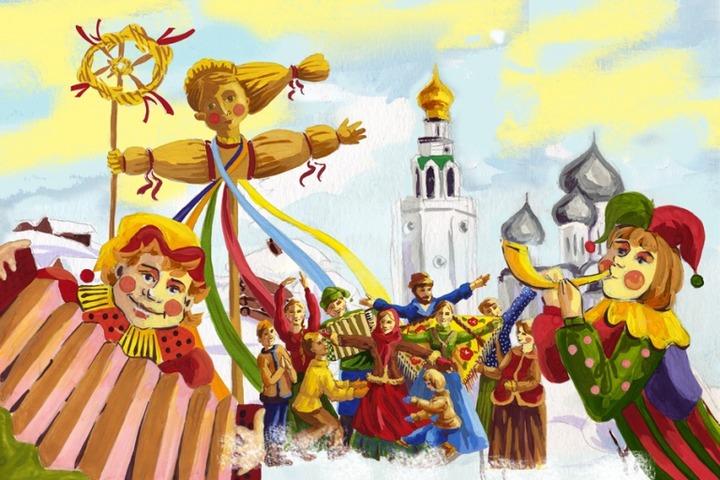 """В Нижнем Новгороде проведут """"Широкую Масленицу"""" для детей"""