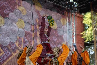 Удмуртский праздник Гербер отметили в Москве