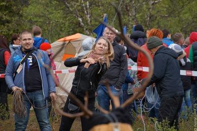 В Мурманской области прошли традиционные осенние саамские игры