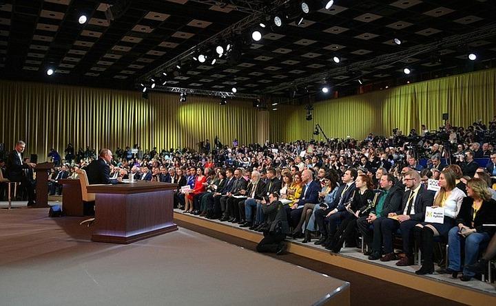 Путин: Напряжение между народами возникло из-за политики Ленина