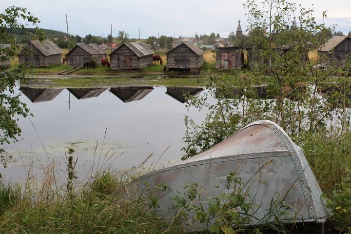 Нёнокса — одно из старейших сёл Архангельской области