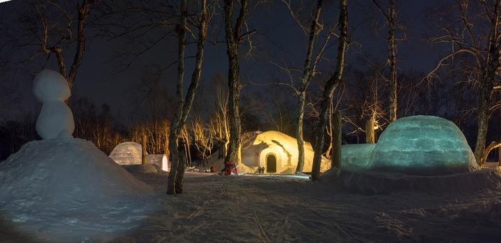 Иглу-отель откроется на Камчатке к Новому году