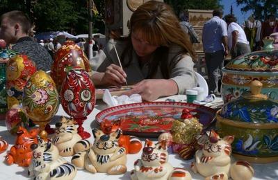 """В Волгограде состоялся фестиваль мастеров художественных промыслов """"Краснотал"""""""