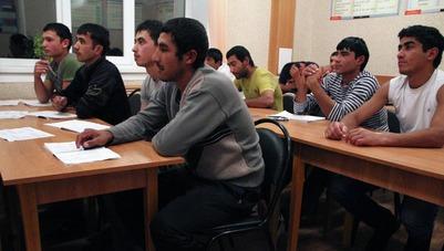 На внедрение  обязательного экзамена для гастарбайтеров потратят 20 млн рублей