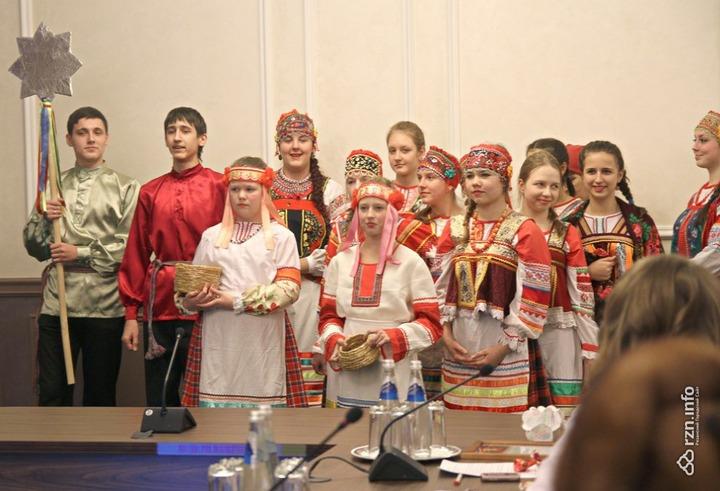 Святочные традиции вспоминали в Рязани