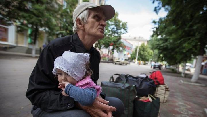 Ростовской области выделят 240 млн на размещение беженцев с Украины