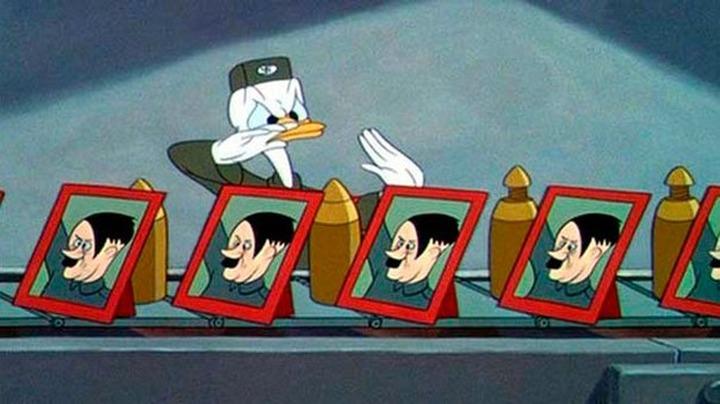 Жителей Томской области оштрафовали за публикацию антифашистского мультфильма Диснея
