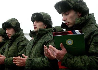 Из Чечни в армию призвали более 700 новобранцев