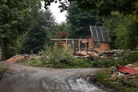 В тульском поселке разрушили еще более 19 цыганских домов