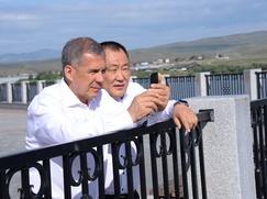 Глава Тувы: Мы в лице татарского народа видим родственную душу
