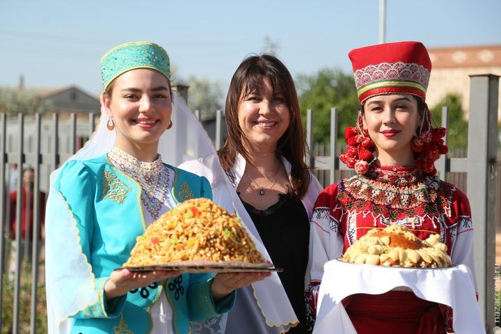 Сабантуй отпраздновали в Астраханской области на трех площадках