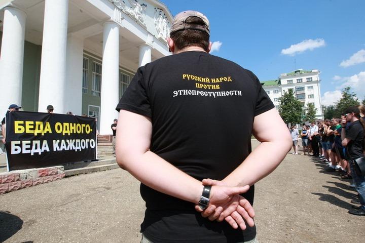 В Саранске прошел народный сход против этнопреступности
