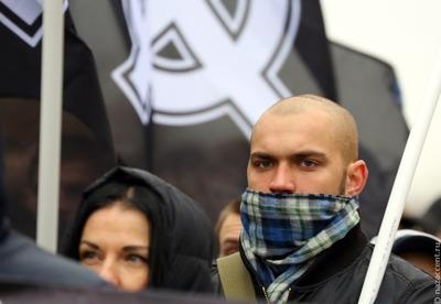 """Акция националистов """"Русский первомай"""" прошла в нескольких городах России"""