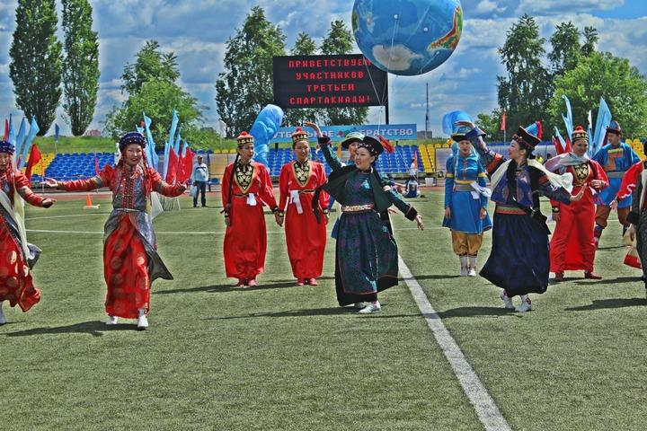 В Москве прошла третья Спартакиада национальных объединений и землячеств